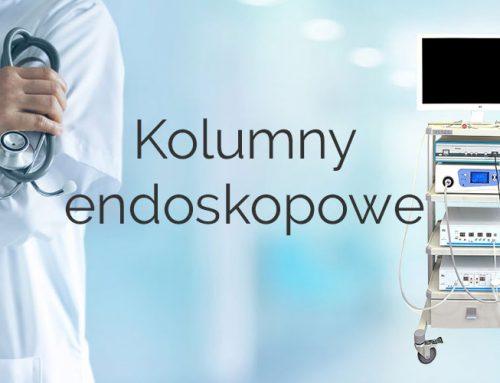Mobilne kolumny endoskopowe